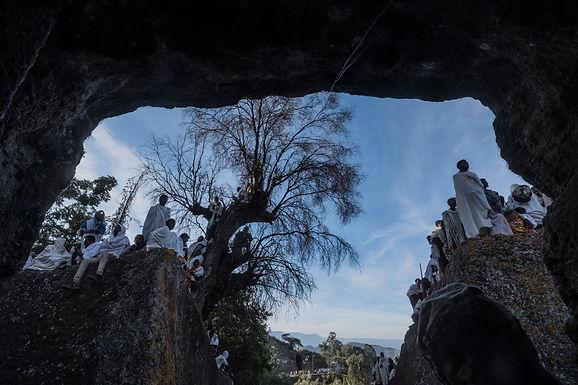 על קצה המצוק בצפייה בטקס    לכבוד השנה האזרחי באתיופיה