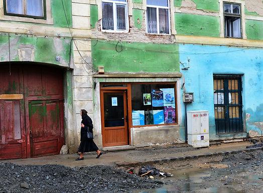 הרס וחורבן ברחוב בגאורגיה