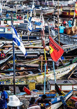 דגל ישראל בכפר הדייגים