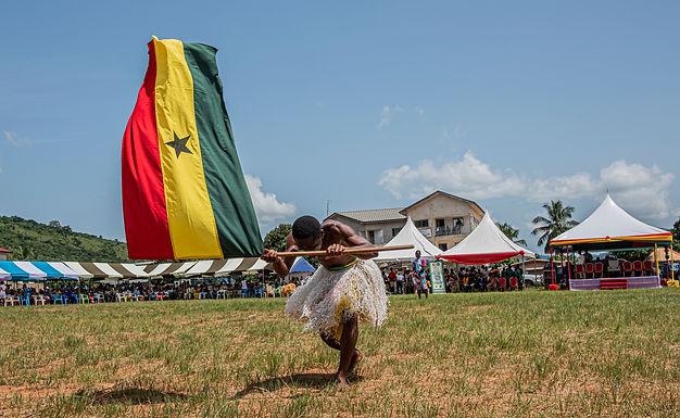 כבודו של דגל בגאנה