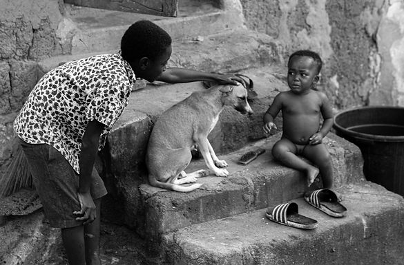 הפחד שלה נחרט בליבי בכפר נידח בגאנה