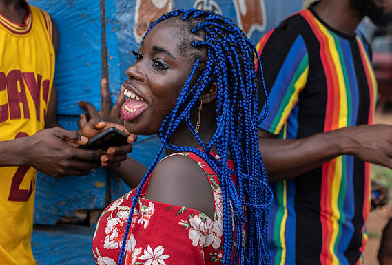 ראש כחול בגאנה