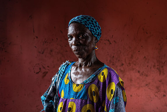 צבע הדם במפעל להכנת חמאת שיאה בגאנה