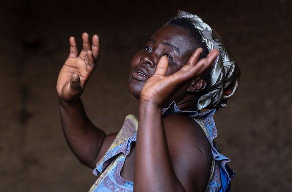 היא רק רוצה לרקוד בגאנה