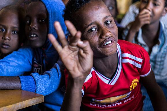 השובב של הכיתה באתיופיה