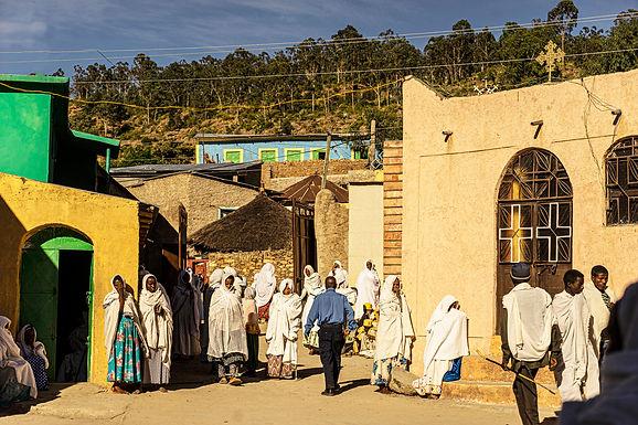 מאין לאין ברחוב באתיופיה