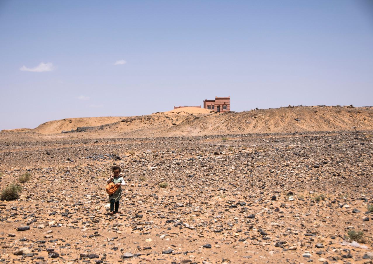 באמצע המדבר
