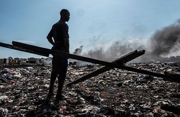 אנא אפנה? באתר הפסולת האלקטרונית בגאנה