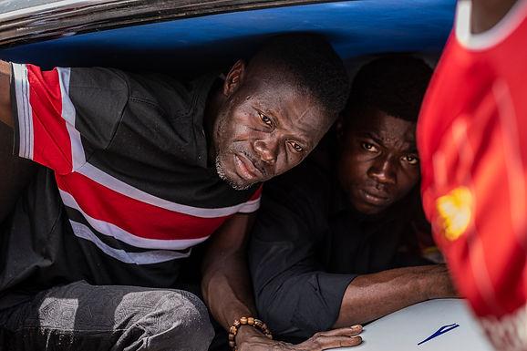 הארון הוכנס בגאנה