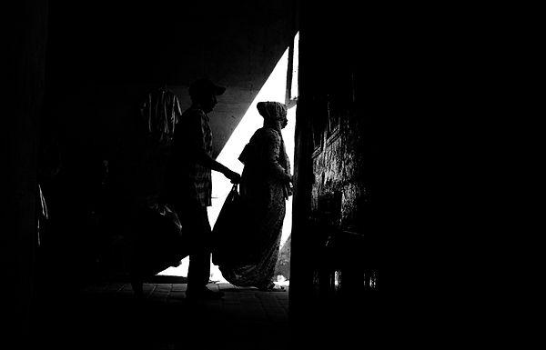 משולש של אור במרוקו