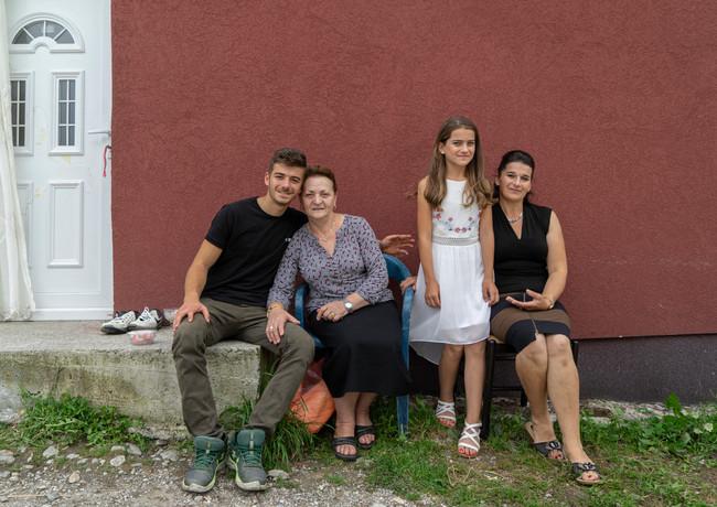 שלושה דורות בגאורגיה