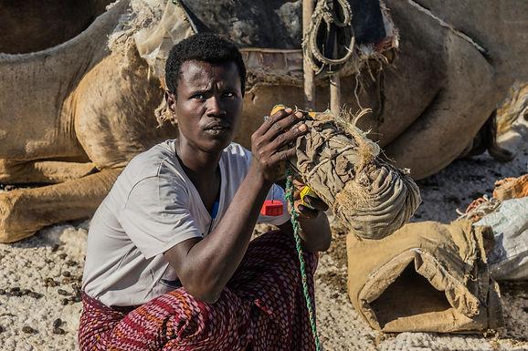 מים קרים במדבר דנקיל הלוהט באתיופיה