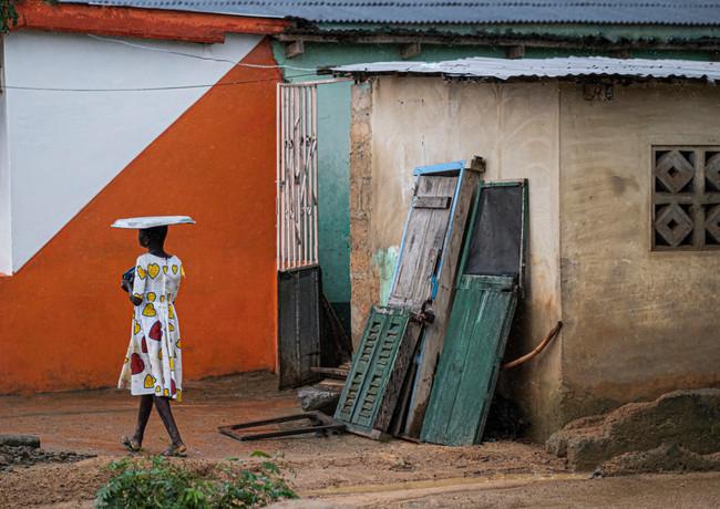 שמלת השבת של חנהלה בגאנה