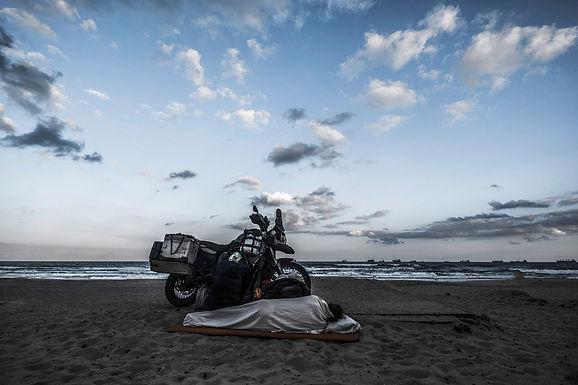 על החוף באשדוד