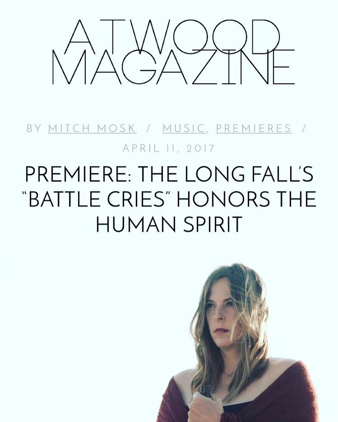 """""""'Battle Cries' is achingly vulnerable and magnificently raw.""""- ATWOOD MAGAZINE pr"""