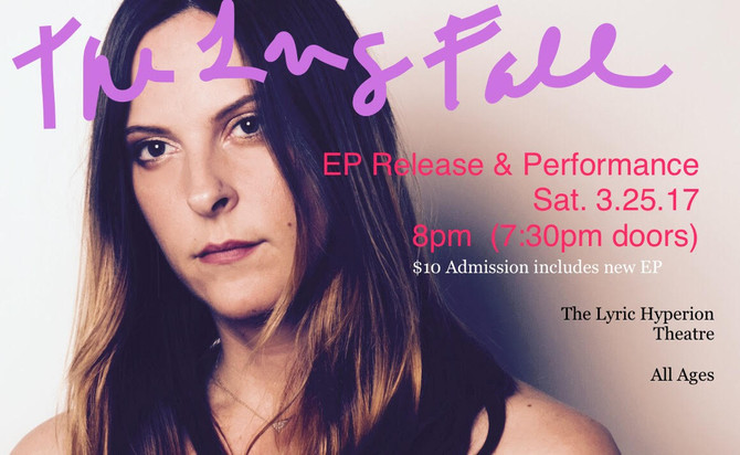 The Long Fall EP Release & Performance  Saturday, March 25th, 8:00pm (doors open at 7:30pm) @The