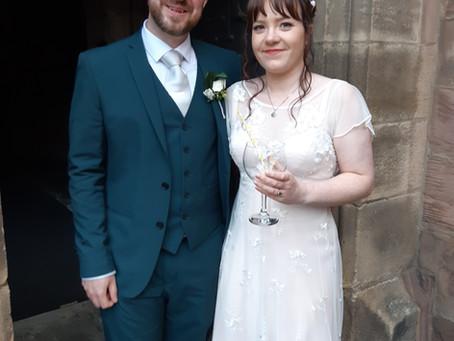 Mr & Mrs Walker Wedding Reception
