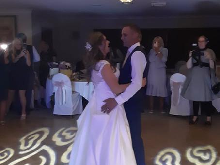 Mr & Mrs Cartwright Wedding Reception