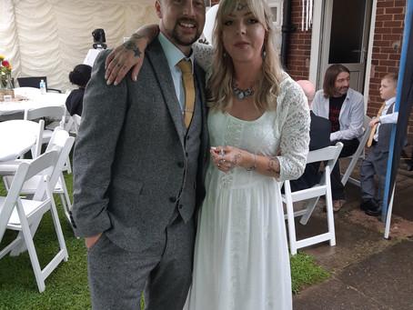 Mr & Mrs Griffin Wedding Reception