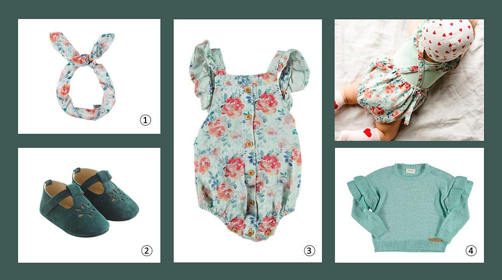 Les looks de bébé pour Juin par Annette & Valentine