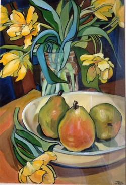 Daffodils and Pears