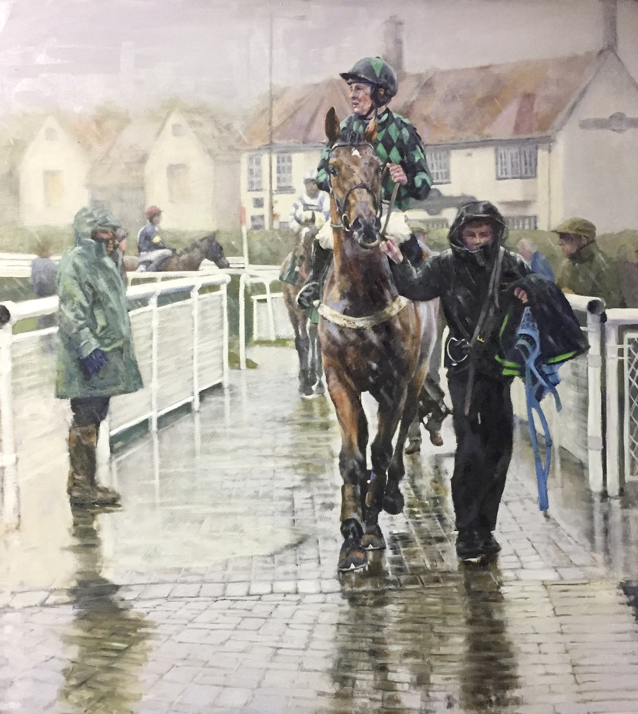 'Wet Day at Catterick'