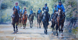 Up to the Gallops