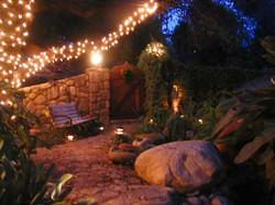 Ojai SoulArts entrance at night