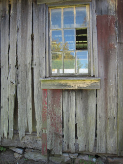 Old Barn Reflections