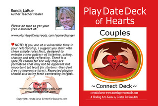 Couples Play Date Cards Insert