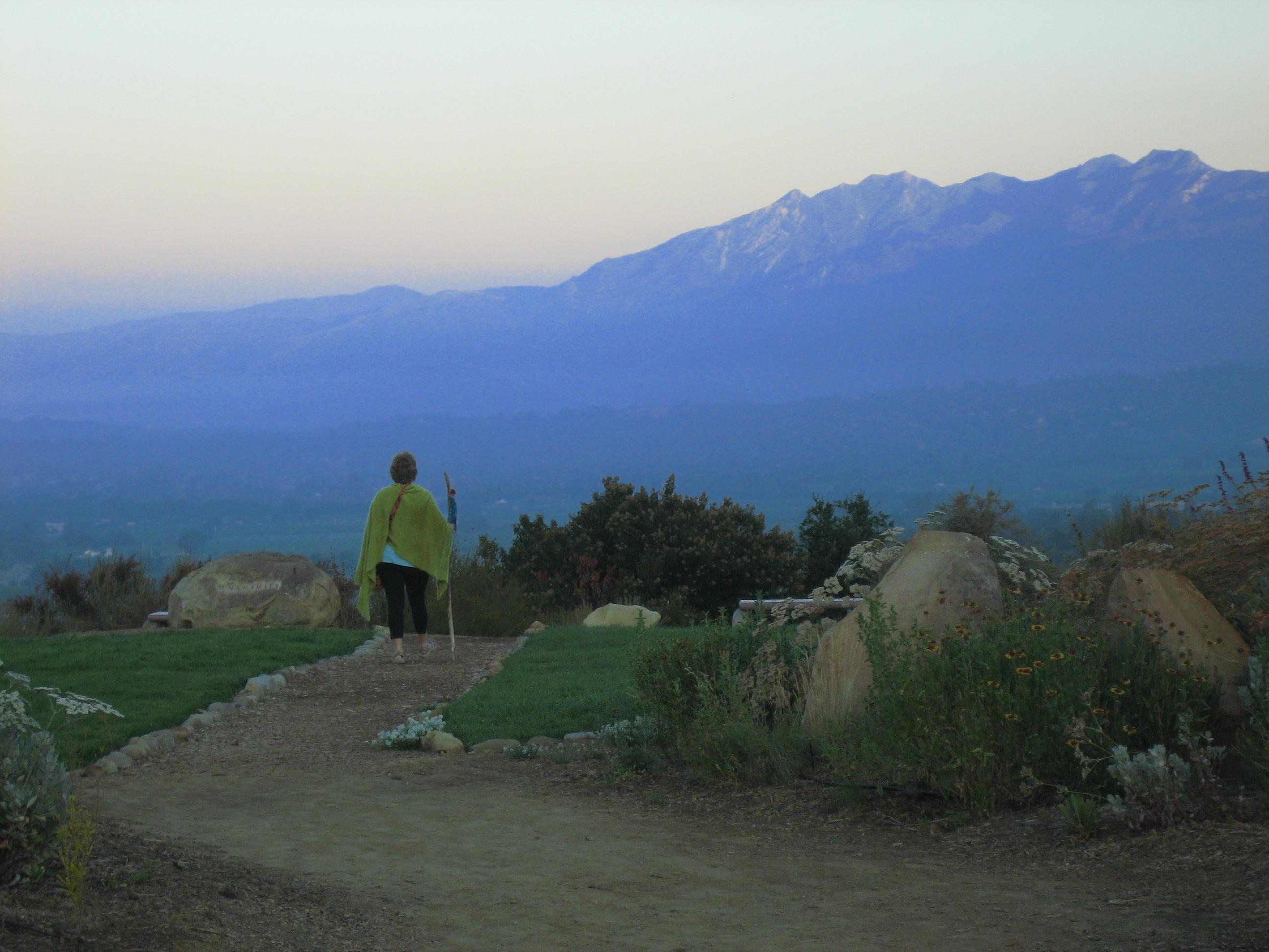 Women at Personal Ojai Retreat