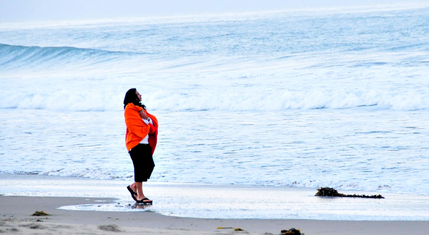 Beach ceremony private retreat