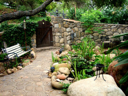 Front Bonsai Garden
