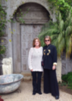 experieced professional executiv life coach with spiritual focus: Ronda LaRue, M.S. with business executive client 2012
