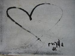 Ronda LaRue Heart Logo