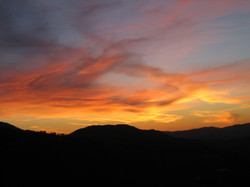 Beautiful Ojai at sunset