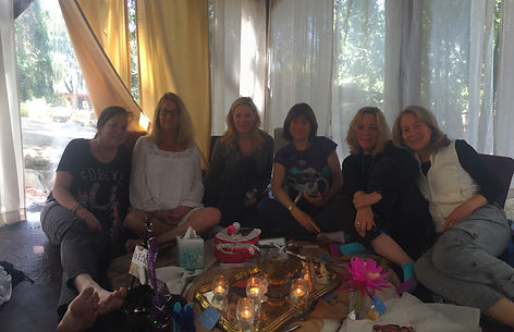 women's healing and spiritual awakening at center for soularts in Ojai California
