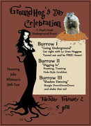 Party Flyer Groundhog Day