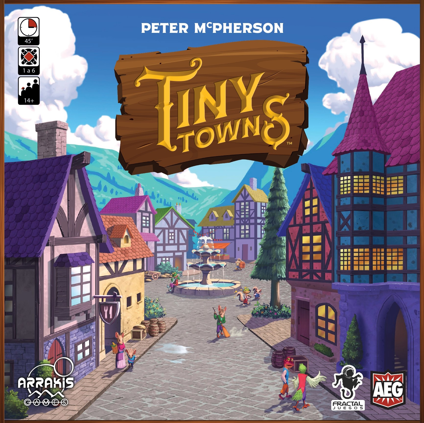 Cover Tiny Towns 2D