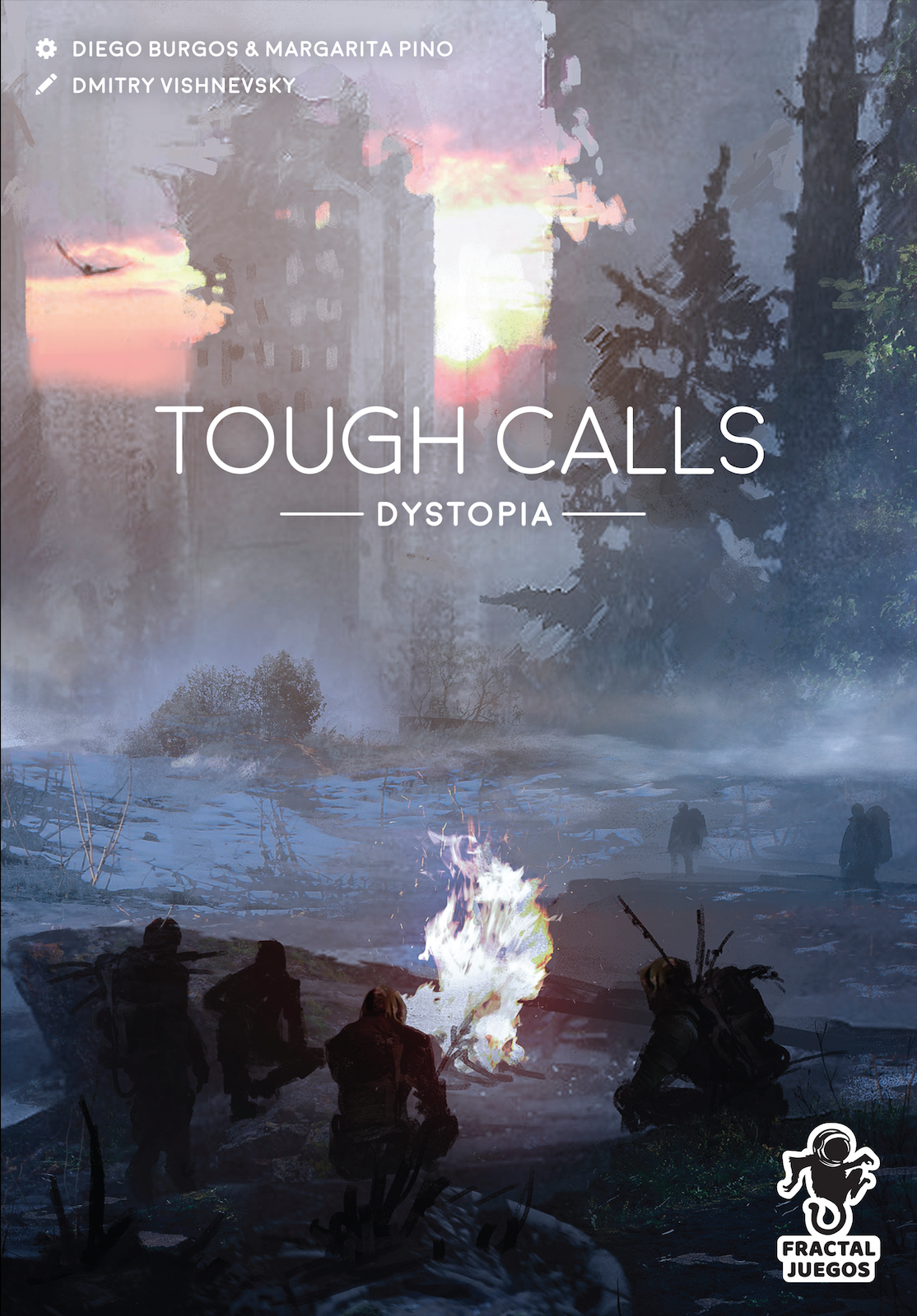 Cover Tough Calls Dystopia 2D