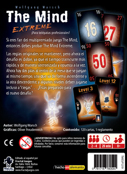 Contraportada The Mind Extreme