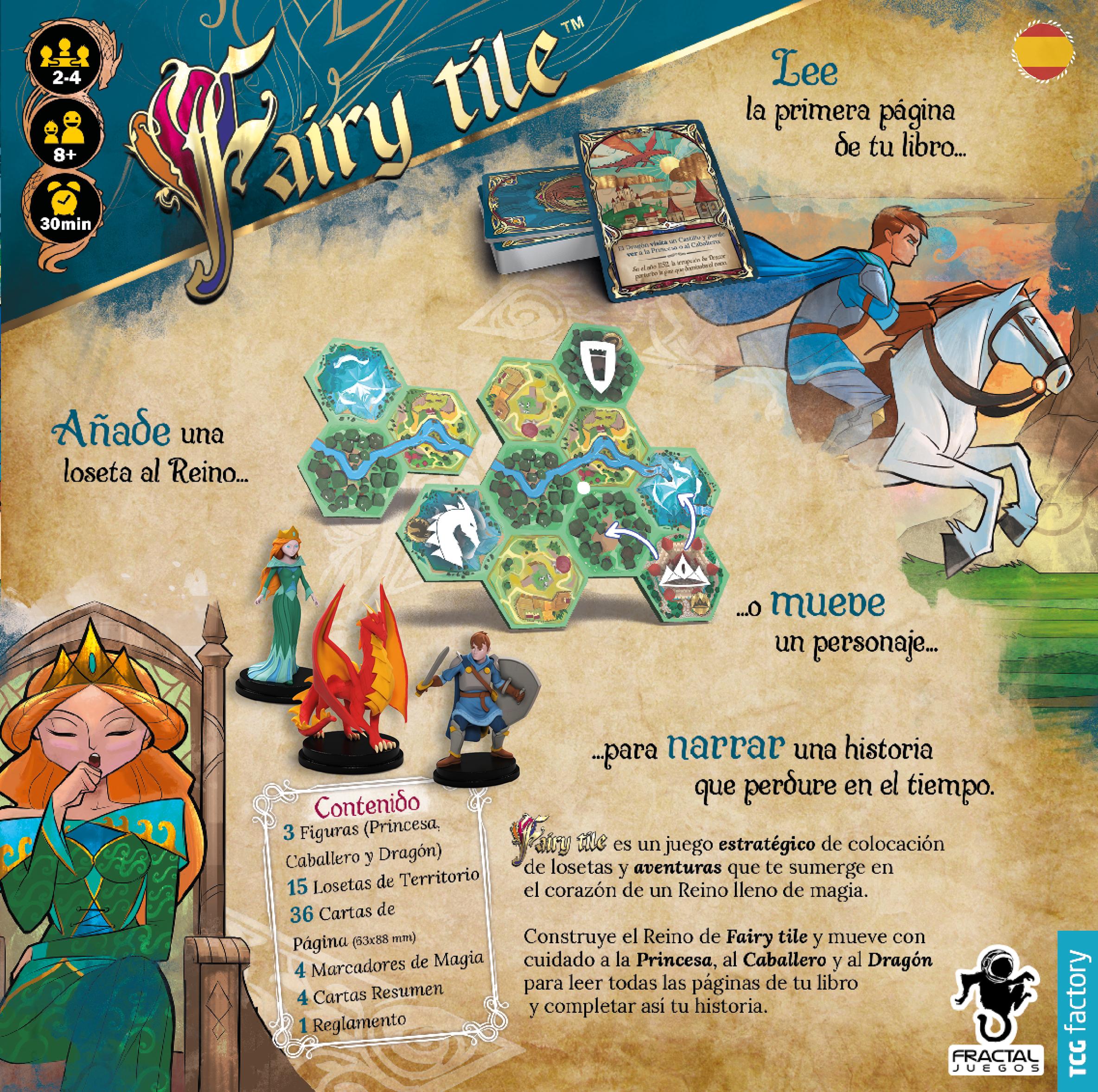 Contratapa Fairy Tile
