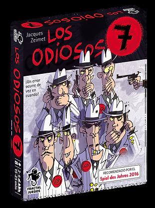 Los Odiosos 7 Cover 3D.png