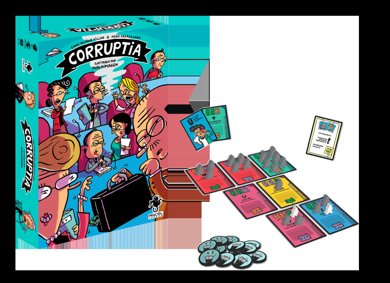 Cover Corruptia + contenido