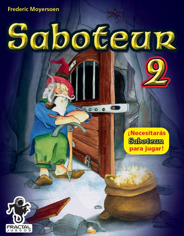 Cover Saboteur 2 2D