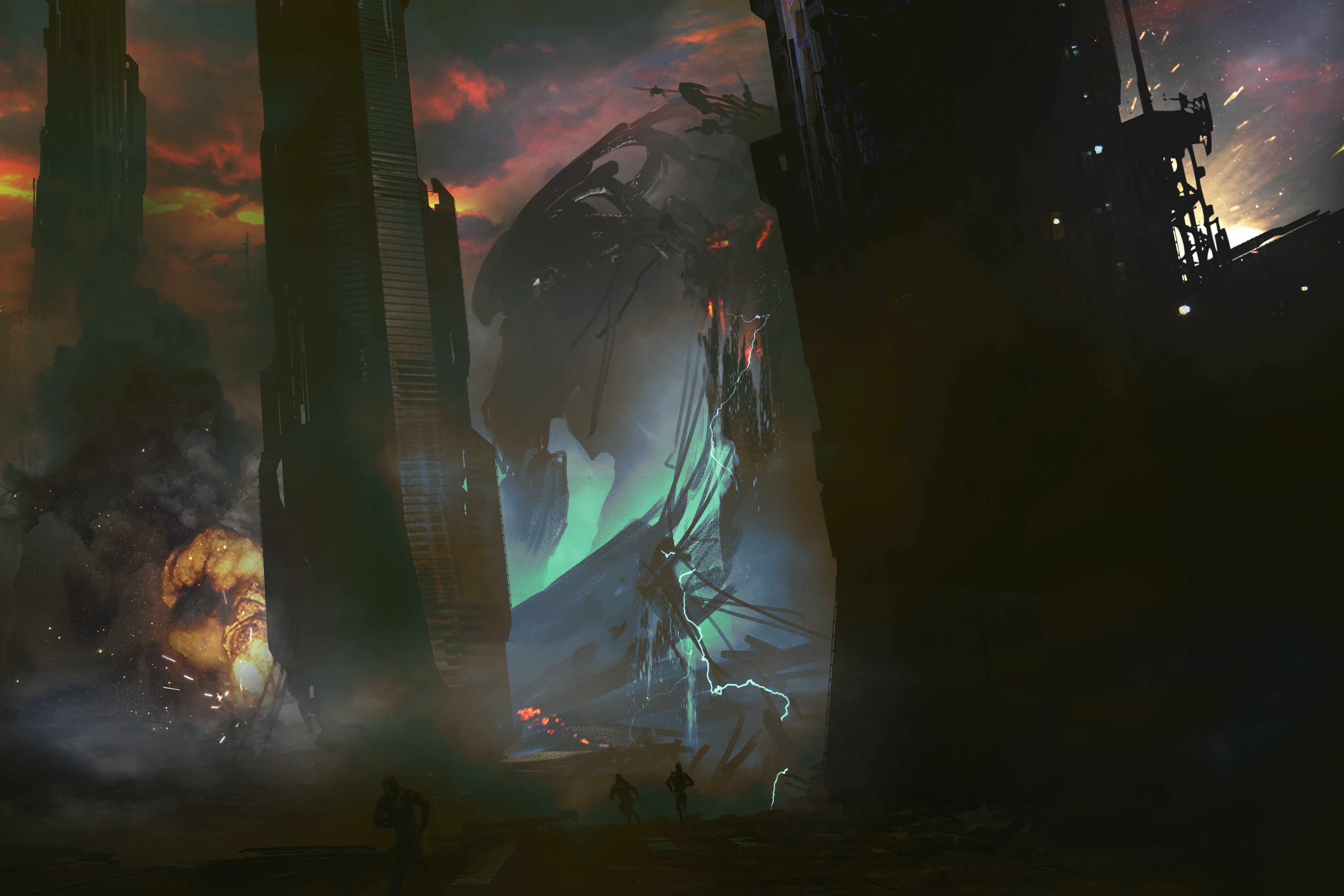 Escenario Kaiju