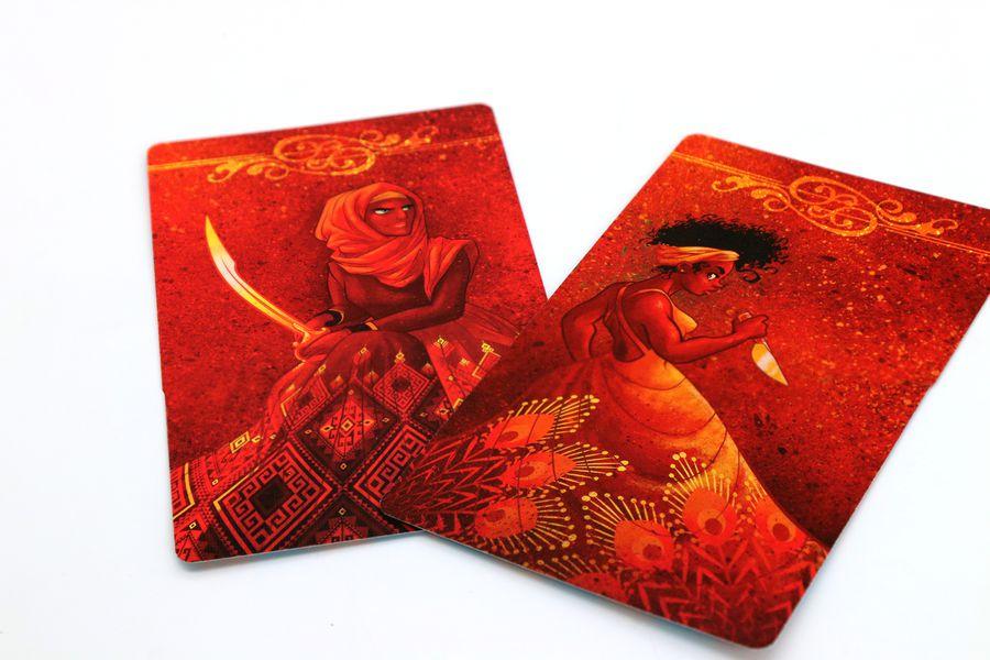 Cartas de Dama Roja