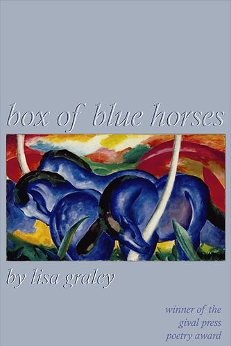 Box of Blue Horses