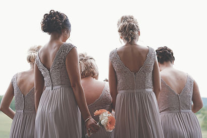 Bridemaids in a wedding