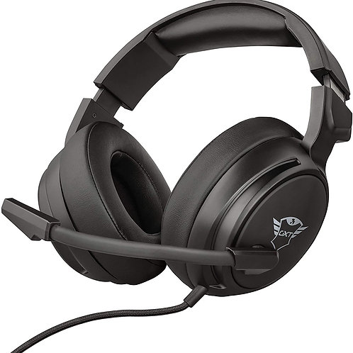 Trust GXT 433 Pylo  Headphones  with Foldable Microphone,